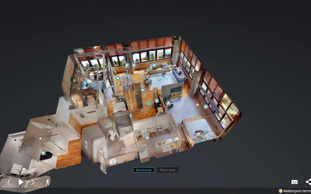 Visitas virtuales en 3D con matterport